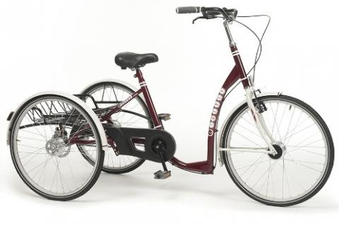 Трехколесный велосипед для инвалидов взрослых и подростков с ДЦП Vermeiren Liberty