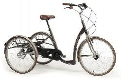 Трехколесный велосипед для инвалидов взрослых и подростков с ДЦП Vermeiren Vintage