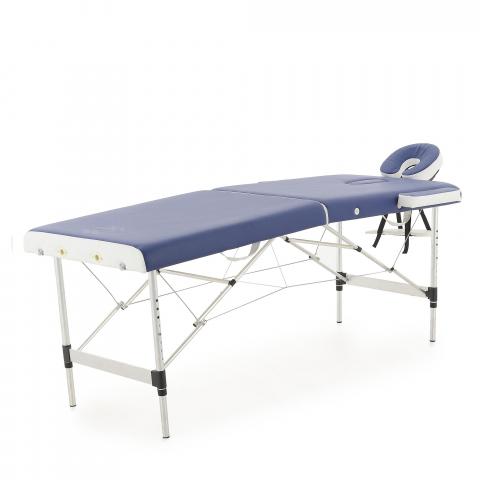 Массажный стол складной алюминиевый JFAL01A 2-х секционный (МСТ-002Л)