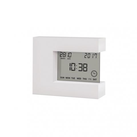 Термометр цифровой с часами Стеклоприбор Т-08