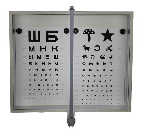 Аппарат Ротта (Осветитель таблиц в комплекте с таблицами)