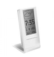 Термометр - гигрометр цифровой с часами Стеклоприбор Т-14