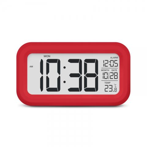 Термометр цифровой с часами Стеклоприбор Т-16