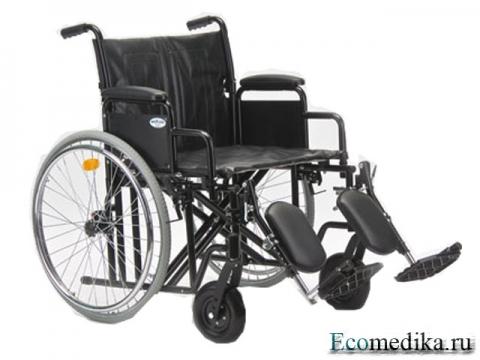 Кресло-коляска инвалидное АРМЕД H 002 (20 дюймов)