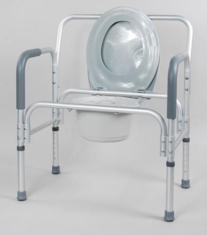 Кресло-туалет 10589 с повышенной грузоподъемностью