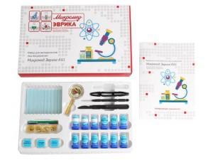 Набор для экспериментов под микроскопом Микромед Эврика Kit 1