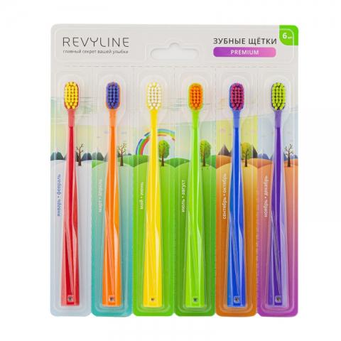 Revyline SM5000 Набор зубных щеток (6 шт.)