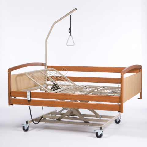 Электрическая функциональная кровать для лежачих больных Vermeiren Interval XXL (в комплекте с матрасом)