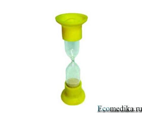 Песочные часы (5 минута)