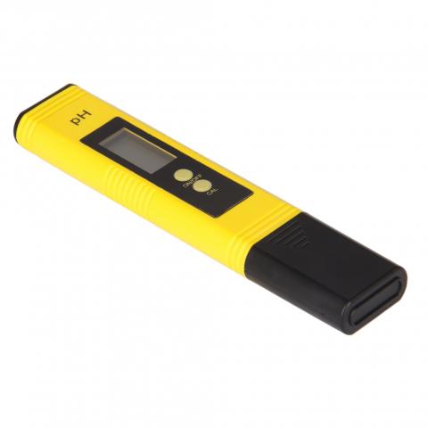 Портативный Рн-метр ИВА-ТЕСТ с автоматической калибровкой (жёлтый)