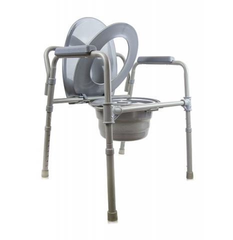 Кресло-туалет со складным ведерком АМСВ 6809 Amrus