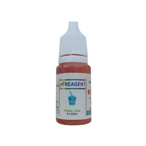 Жидкий pH тест для измерения показателей воды