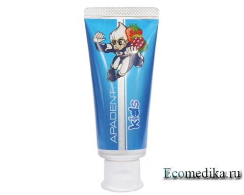 Зубная паста для детей Apadent Kids