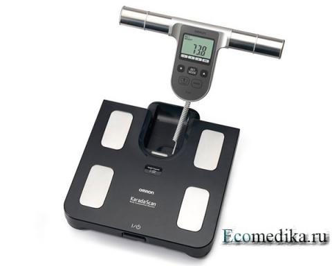 Весы с анализатором состава тела Omron BF-508