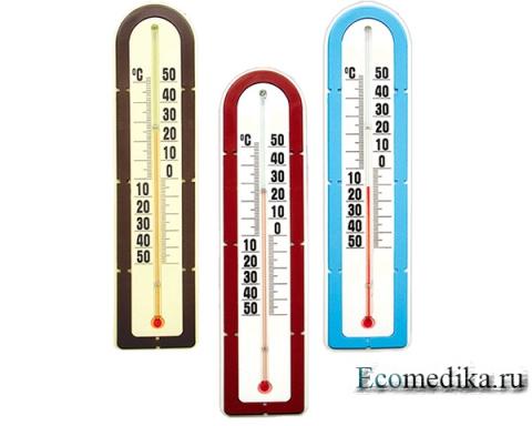 Термометр наружный Стеклоприбор ТБН-3-М2 исп.5