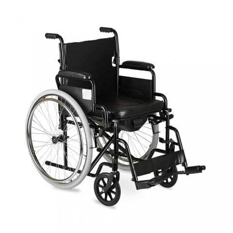 Кресло-коляска инвалидное (с санитарным оснащением) АРМЕД H 011A