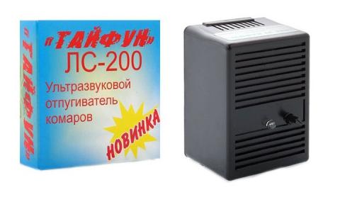 """Ультразвуковой отпугиватель комаров """"ТАЙФУН ЛС 200"""""""