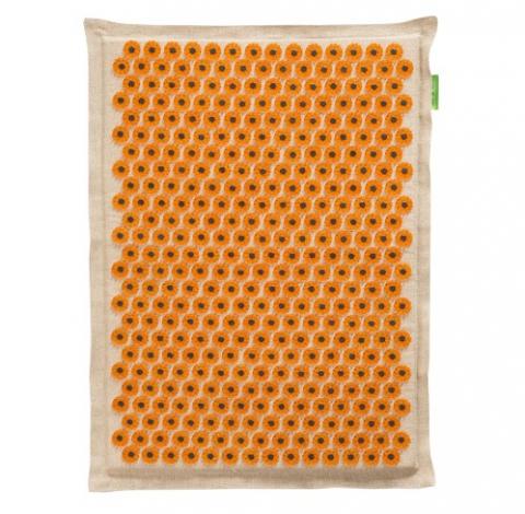 Аппликатор Кузнецова. Большой коврик интенсивного воздействия (41х60см), магнитный (желтый)
