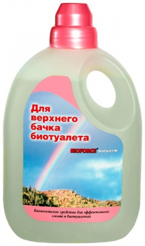 Жидкость BIOFORCE BioToilet L для верхнего бачка (1000мл)