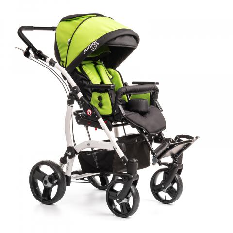 Кресло-коляска JUNIOR PLUS для детей с ДЦП (Литые колеса)