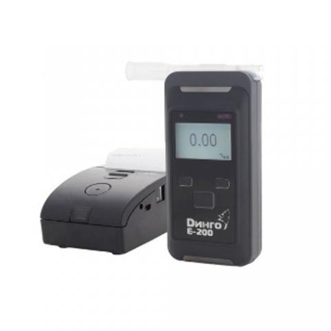 Алкотестер Динго Е-200В с принтером (с Bluetooth)