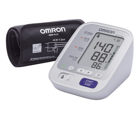 Тонометр OMRON M3 Comfort (HEM-7134-E) с манжетой intelli Wrap 22-42 см